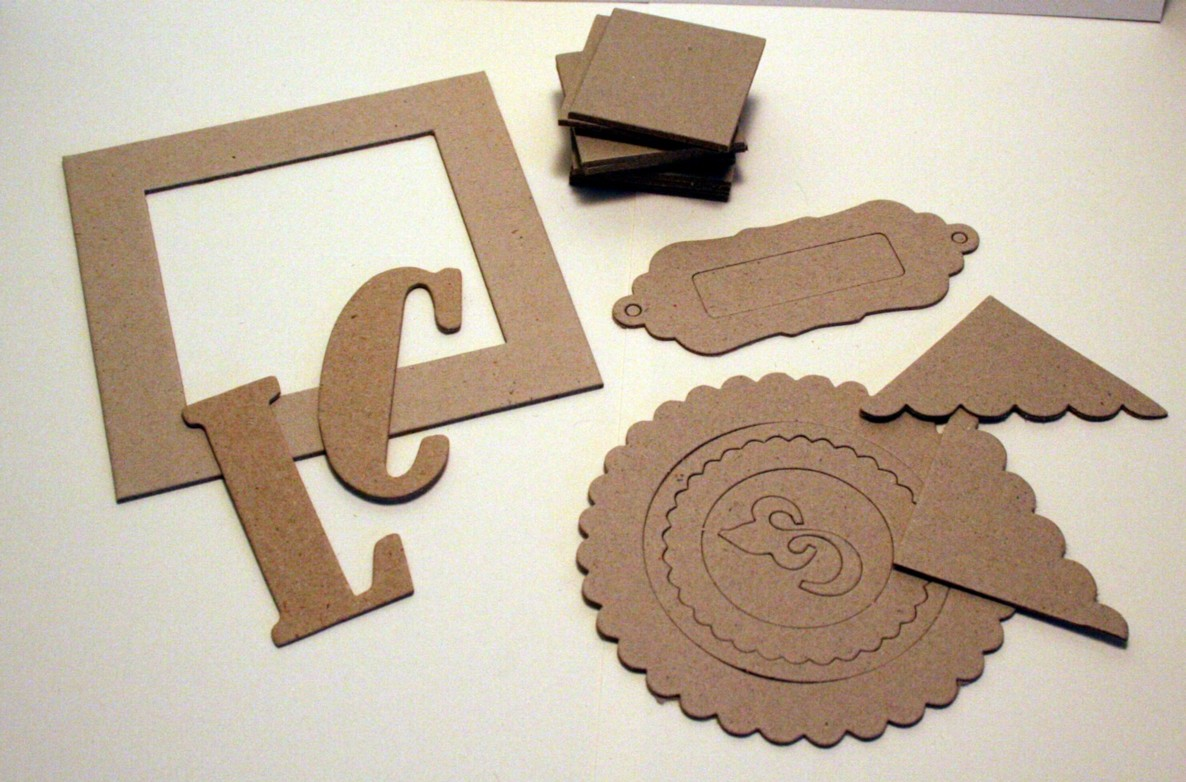 Chipboard Letters Ideas ~ Chipboard letters and other great uses for